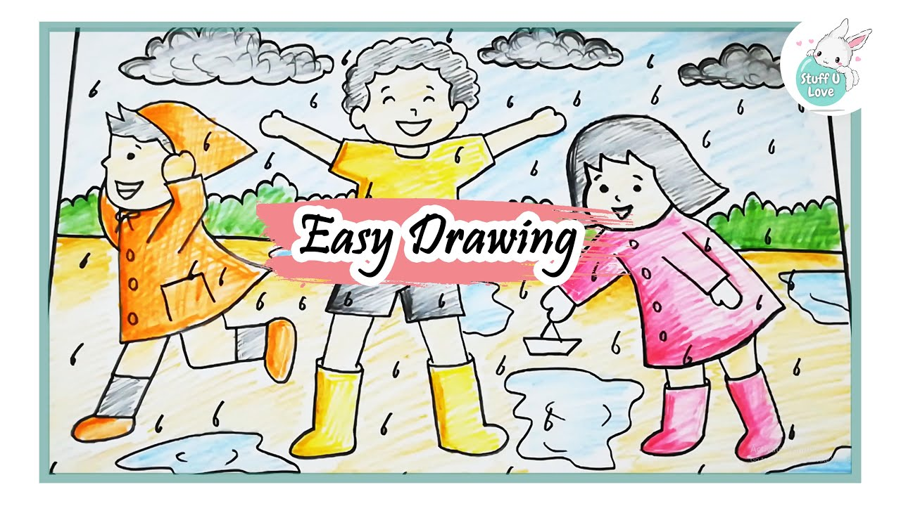 How To Draw Simple Flowers Drawing For Beginners Using Staedtler Watercolor Pencil Youtube