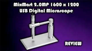MixMart 2.0MP 1600 x 1200 USB …