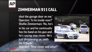 Zimmerman's Wife Calls 911, Won't Press Charges