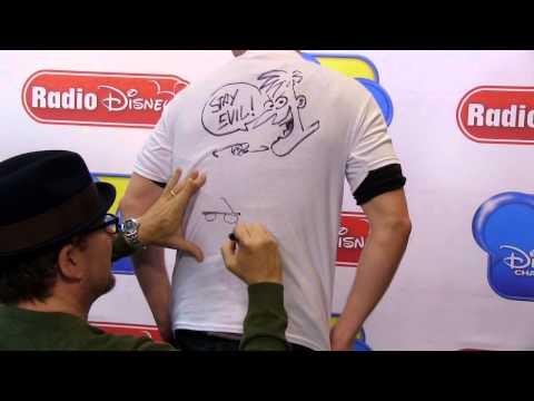 Watch Dr. Doofenschmirtz come to life...on a TShirt!  Radio Disney