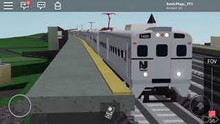 Railfanning roblox // Ro scale North east corridor // Elizabeth station // ROBLOX