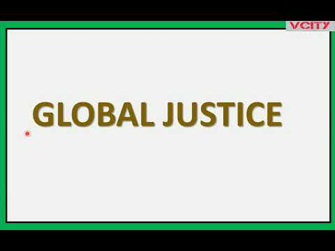 Global Justice Part 2