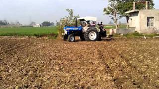 New Holland 3630 super tarbo tx fully loaded on 15cultivator
