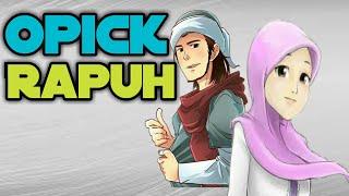 Opick - Rapuh (Cover Animasi Lirik)