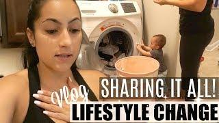 LIFE CHANGES ARE NOT ALWAYS EASY // DITL VLOG // HOW I STRUGGLED, WHAT WE EAT, 20K GIVEAWAY?