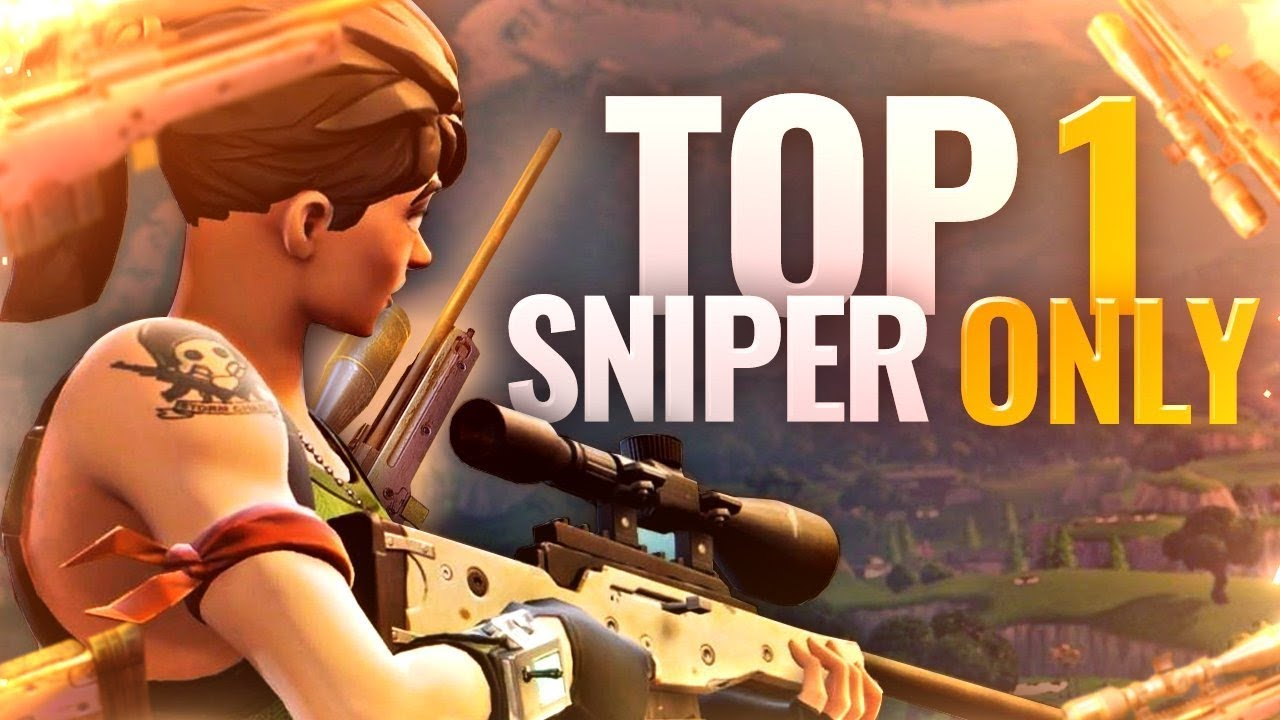 Top 1 d fi sniper only fin de ouf fortnite battle for Fond ecran fortnite