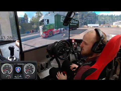 Euro Truck Simulator 2 - Special Transport+normal Jobs E4