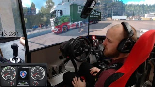 Euro Truck Simulator 2 - Special Transport+normal jobs E4