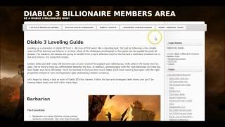 Inside Sneak Peak and Diablo 3 Billionaire Review! Thumbnail
