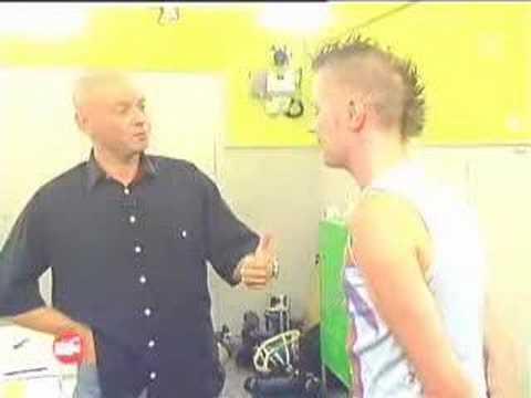 Stephen Folkers  TV Sendung Die Casting Agentur Pro 7