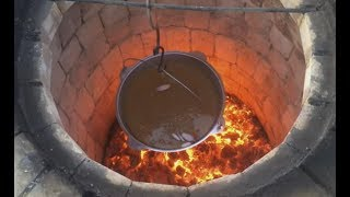 армянский плов из полбы в тандыре. Armenian plov from spelt in tandoor