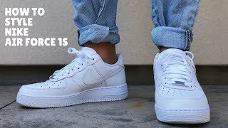 HOW TO STYLE: Nike Air Force 1s | Outfit Ideas