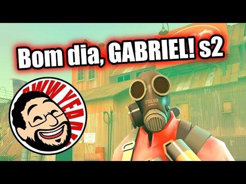 Team Fortress 2 - JOGANDO COM O GABRIEL em Goldrush!