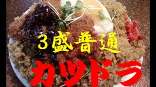 【MOTO】カツドラ  3盛(普通)