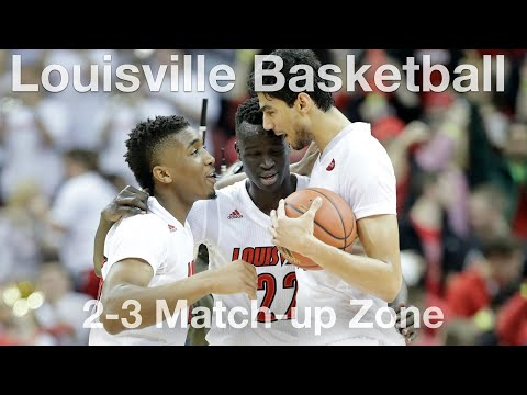 Louisville 2 3 Matchup Zone Defense Youtube