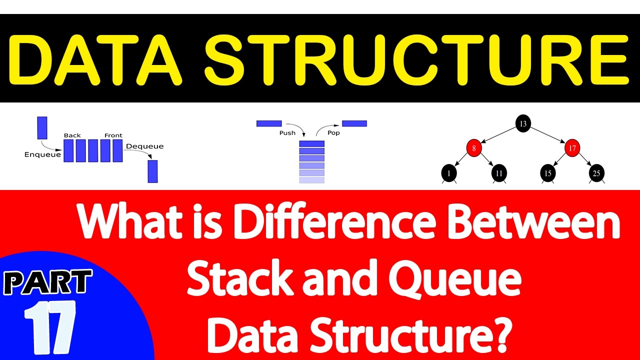what is difference between stack and queue data structure what is difference between stack and queue data structure interview questions and answers