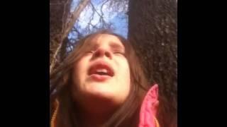 """Aemelia singing Adele """"Someone like you"""" Thumbnail"""