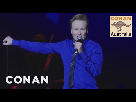 Conan & His Australian Friends Perform Stand-Up In Sydney - CONAN on TBS