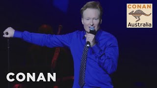 Conan amp His Australian Friends Perform Stand-Up In Sydney - CONAN on TBS