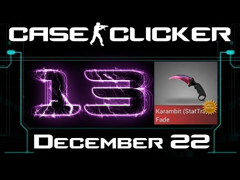 Case Clicker   December Karambit Fade FN ST Tradeaway #13