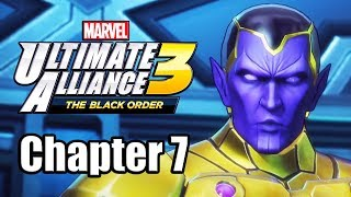 Marvel Ultimate Alliance 3: The Black Order - Gameplay Walkthrough Part 7 (Chapter 7)
