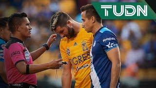 ¡Hay bronca! Gignac y Carlos Rodríguez se encaran | Tigres vs Puebla | Liga Mx  Ap 2019  J11 | TUDN