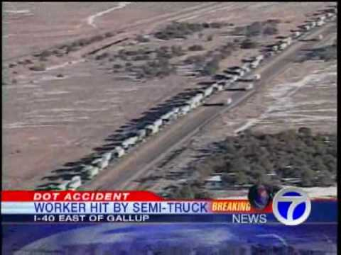 Accident Ties Up I -40 Traffic Near Gallup