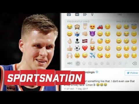 Do You Believe Kristaps Porzingis' Twitter Was Hacked? | SportsNation | ESPN