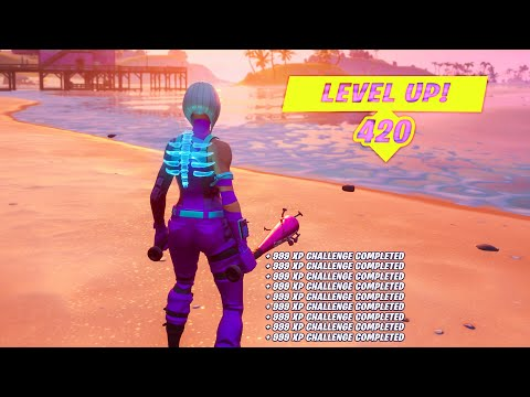 Complete ALL CHALLENGES With This FORTNITE XP GLITCH!