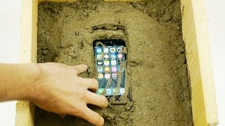 Putting an iPhone 7 Inside Concrete Rock - What Will Happen?