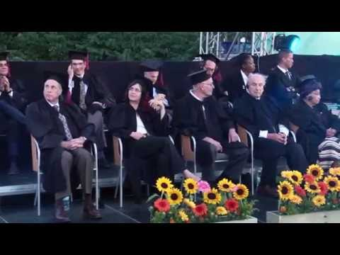 BOG 2016 - Conferment of Honorary Doctorate Degrees (from a different point of view)