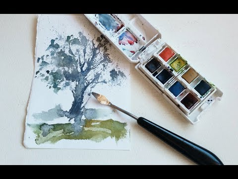 la-espátula-para-pintar-acuarelas/-watercolor-painting-knife