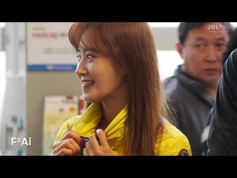 160526 [Fancam] Yuri - Incheon Airport to New Caledonia by F2Ai