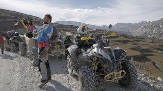 Из Чечни В Дагестан На Квадроциклах. Сломался Стэлс Гепард . Квадро Поход Часть 3