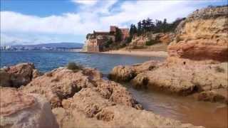 португалия. algarve(8 пляжей около города Portimao. На карте провинция Алгарве - это небольшой «кирпич» который с одной стороны..., 2015-10-04T20:53:30.000Z)