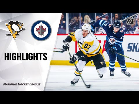 Penguins @ Jets 10/13/19 Highlights