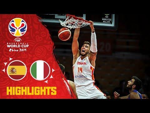 Spain V Italy - Highlights - FIBA Basketball World Cup 2019