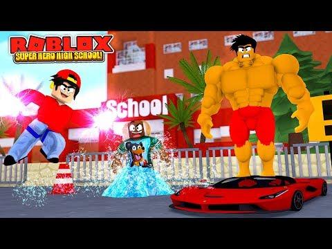 ROBLOX SUPER HERO HIGH SCHOOL - DONUT & ROPO GET NEW SUPER HERO POWERS NEVER BEEN SSEEN BEFORE!!