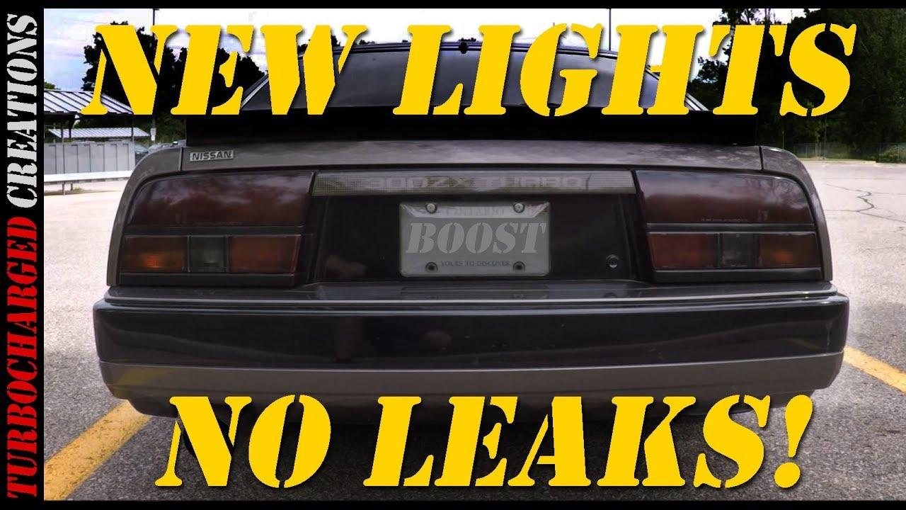 Resealing Z31 Tail Lights Vht Tint