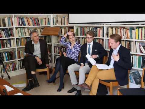 What do European Studies Mean? With Oxford University European Affairs Society.  .