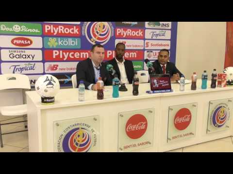 Post-Match Press Conference with Dennis Lawrence - T&T vs Costa Rica