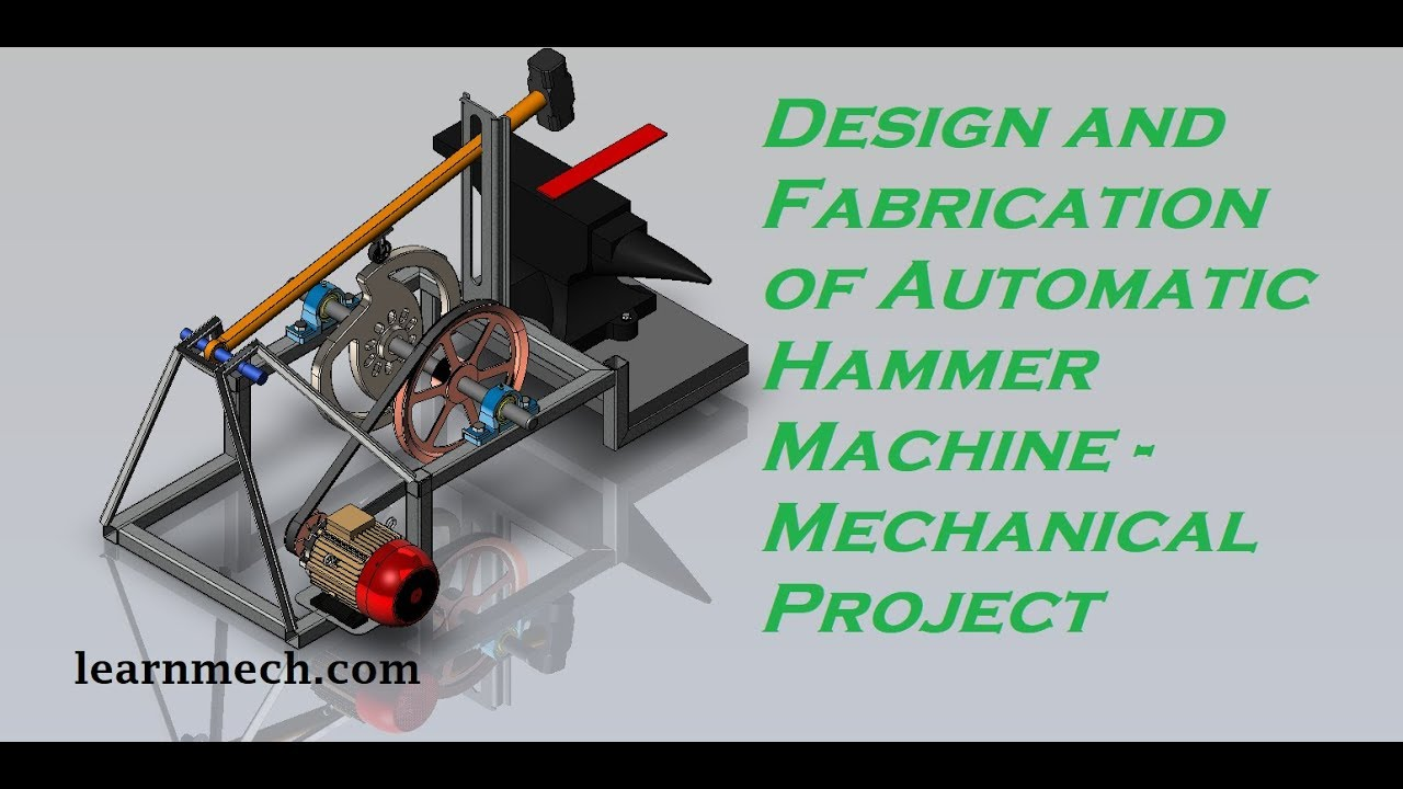 Download Power Hammer | Automatic Hammering Machine | New Mechanical Project