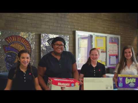 Daphne Middle School   LA Community Service