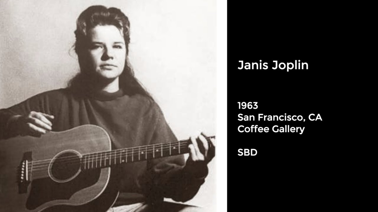 A Young Janis Joplin Plays a Passionate Set at One of Her First Gigs in San Francisco (1963)