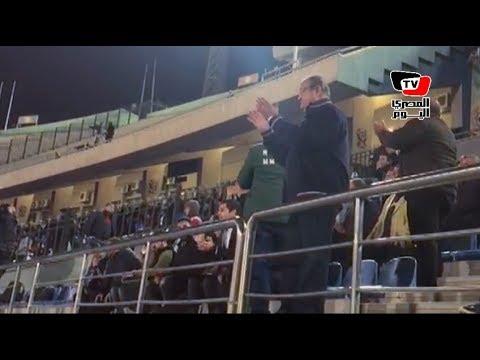 علاء مقلد يتقمص دور المشجع في مباراة الإنتاج.. ويهتف: «العب يا زمالك»  - 21:21-2018 / 1 / 14