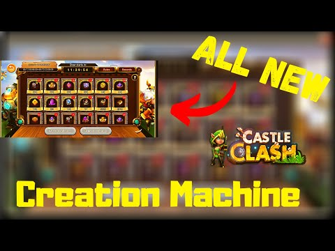 New F2p Event Creation Machine | Castle Clash