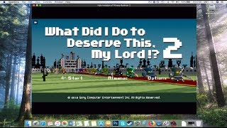 How to Install PSP Holy Invasion of Privacy Badman 2 on MAC?