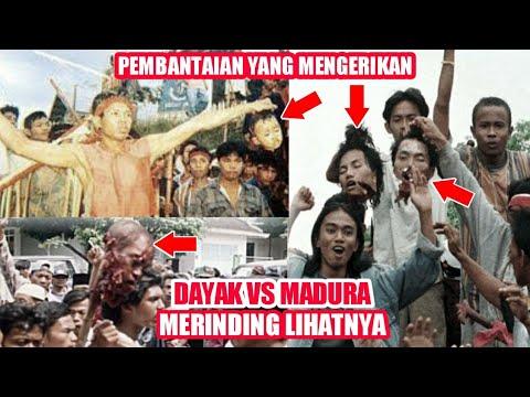 Download Perang Dayak vs Madura Tragedi Sampit sangat mengerikan, Sampai bikin merinding 😵‼️