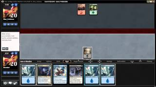 Magic Origins 4 player draft UB Control vs Avaricious Dragon