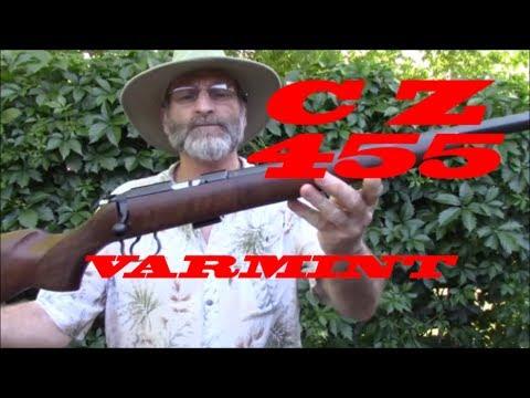 CZ 455, My latest varmint rifle.